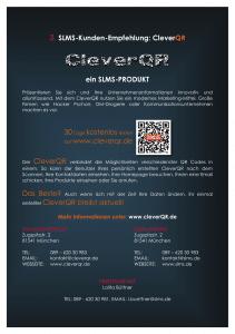 CleverQR von SLMS.de