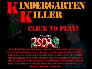 kindergarten killer
