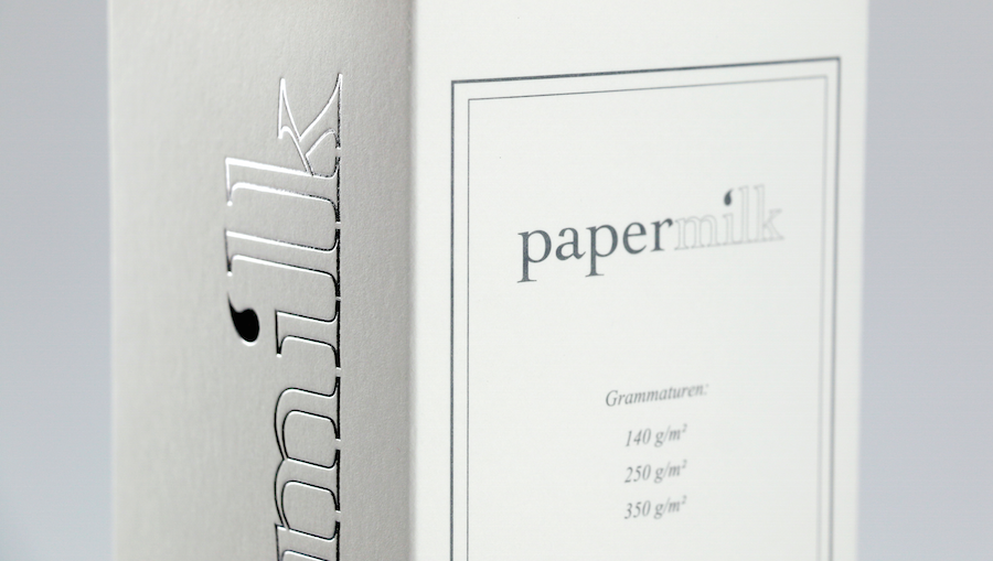 Papier aus Milch